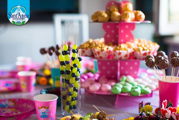 Buffet per bambini, gusto e salute siete invitati