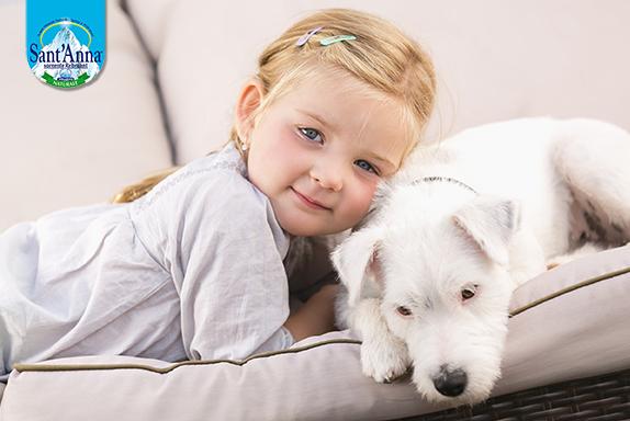 animale domestico per distrarre i bambini malati
