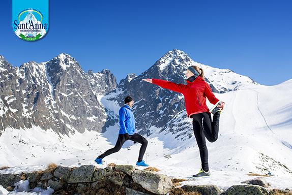 Fare sport è un ottimo rimedio per l'inverno