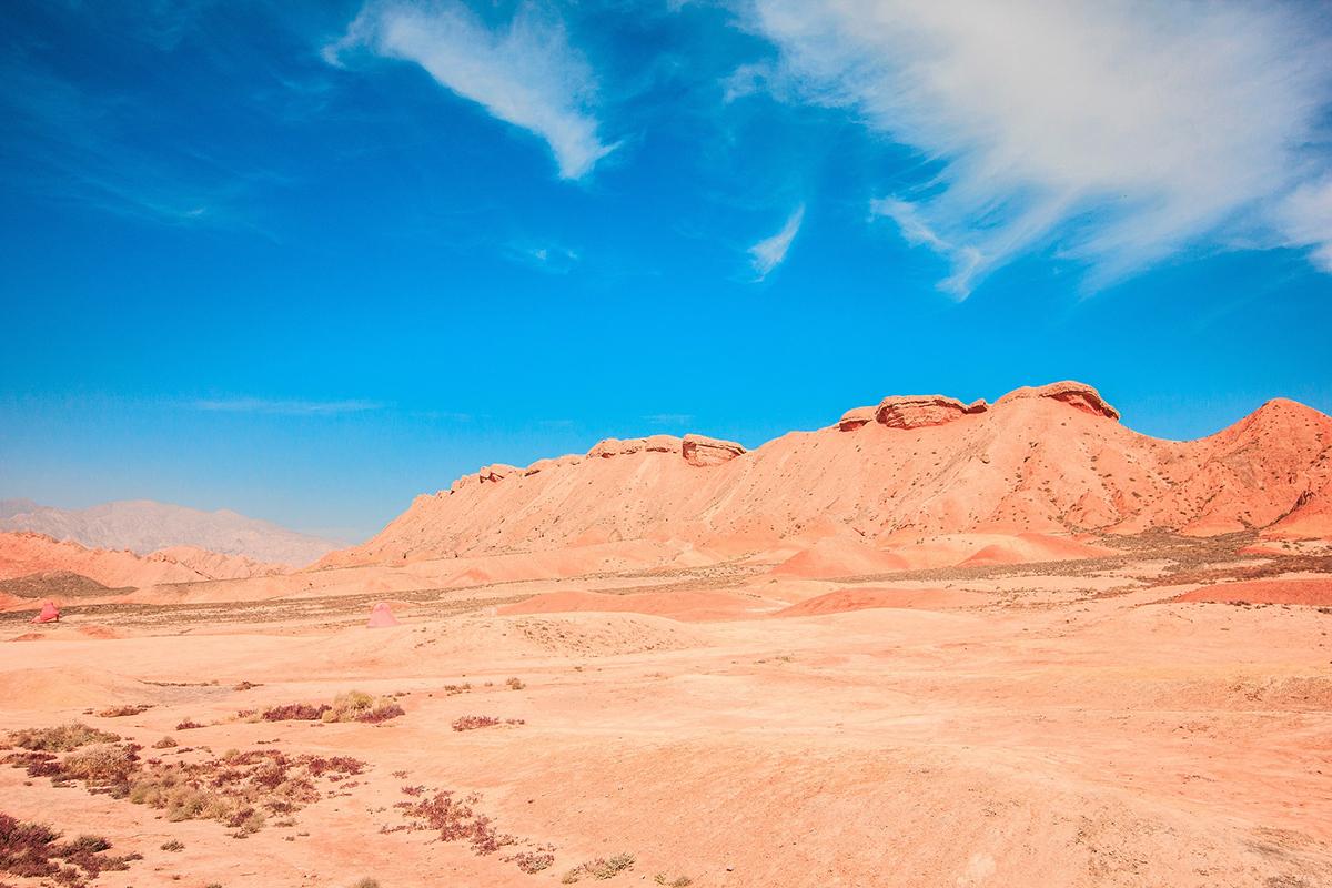 Deserto nella Via della Seta