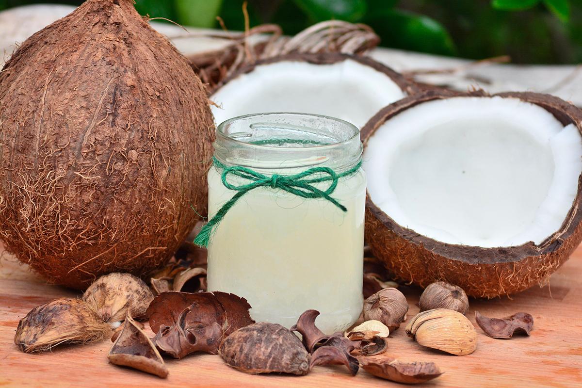 Noce di cocco fresca