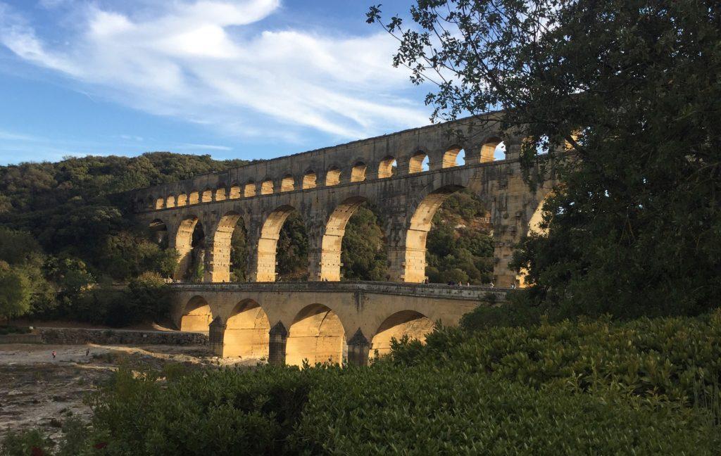 Acquedotto romano in Francia